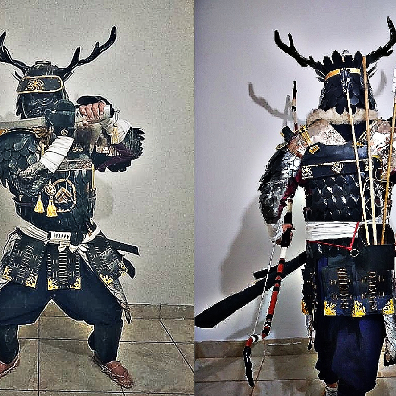 Samurai-style armor