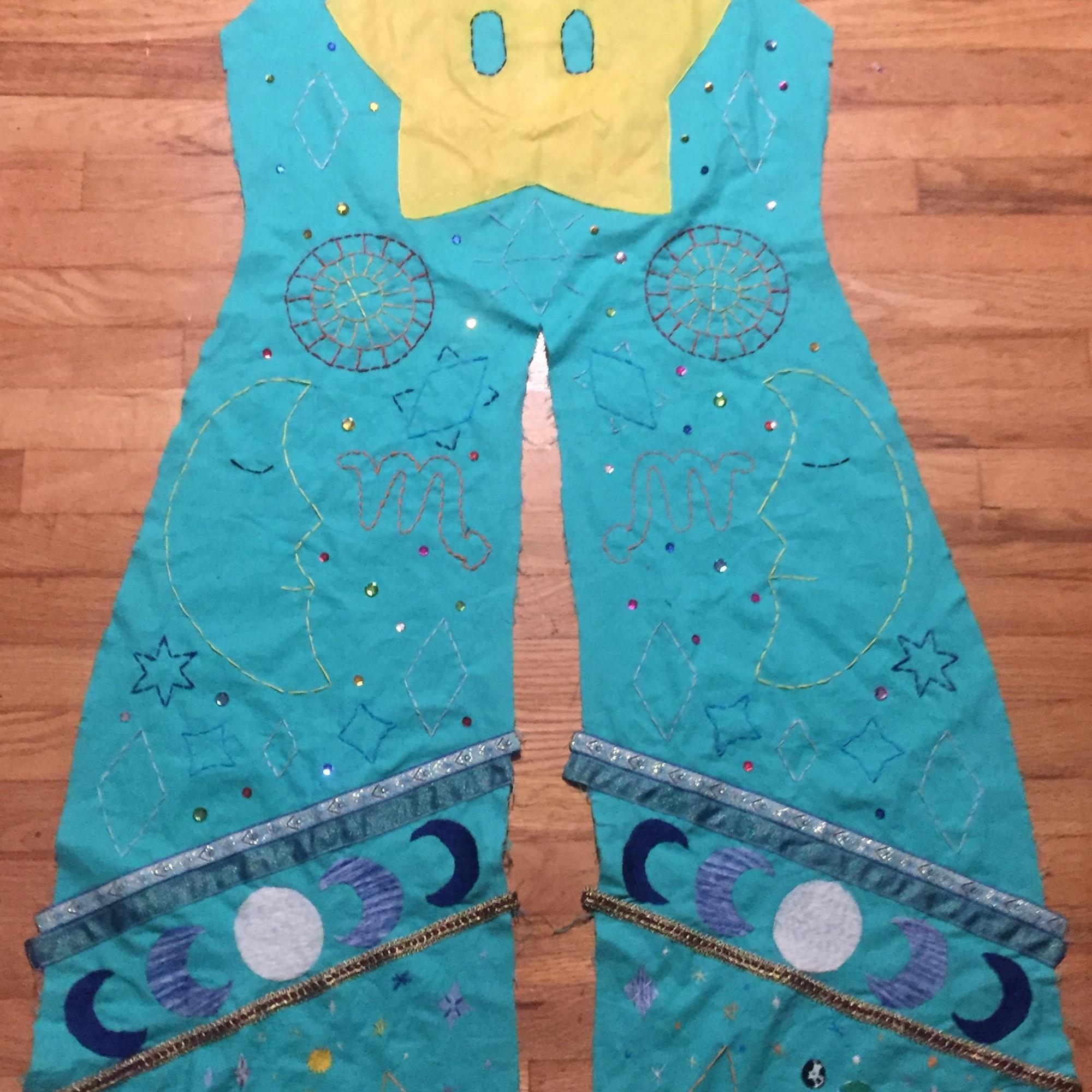 Fancily-designed cloak
